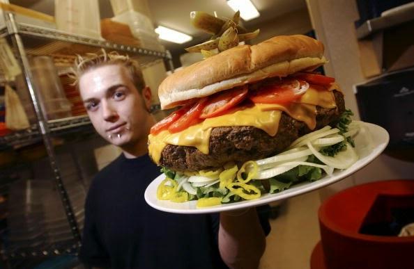 La hamburguesa con sabor a carne humana