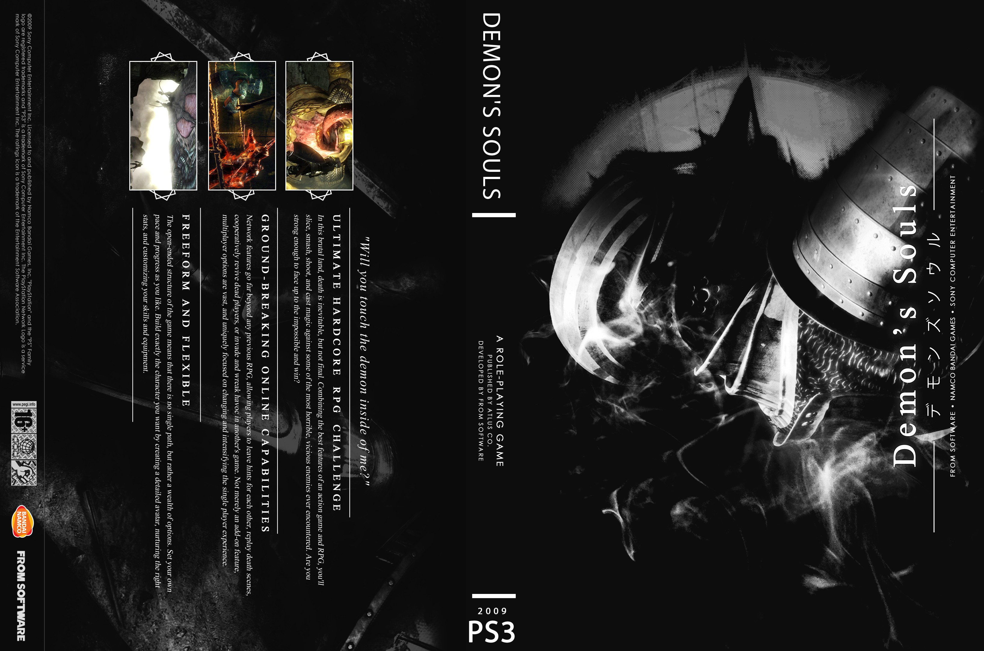 Capa Demons Souls PS3