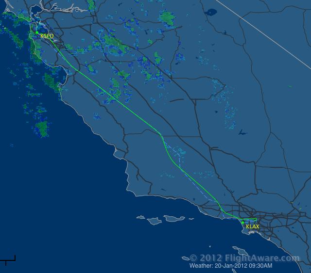 Big Plane, Short Flight, Flat Seat: SFO-LAX in UA 777 Business Class