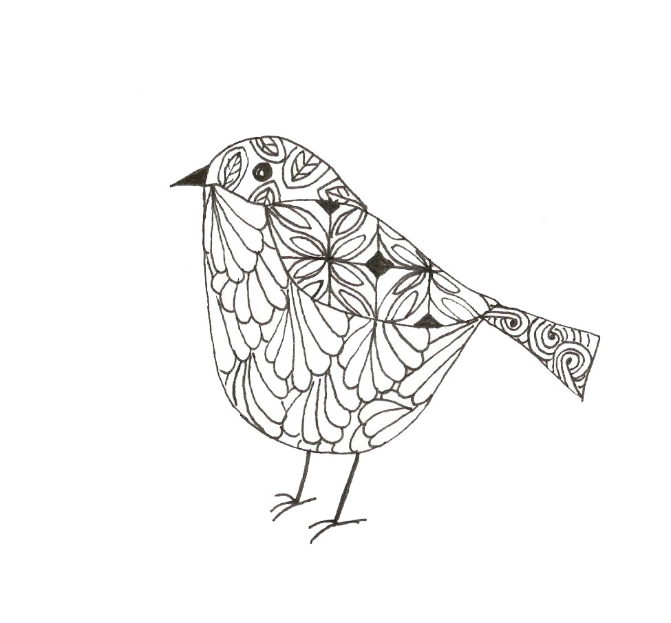 laura ashton patterned bird