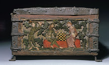 Baúl con grabado siglo XIV