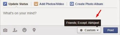 teman yang tidak dapat melihat status kamu