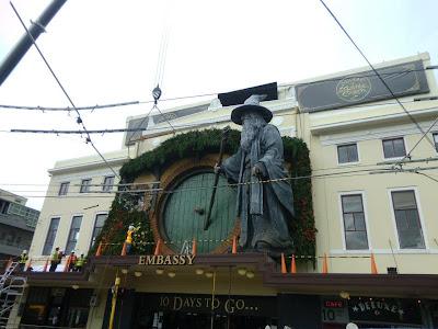 Estatua gigante de Gandalf en Nueva Zelanda - curiosidades