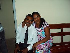eu e aminha esposa ana maria