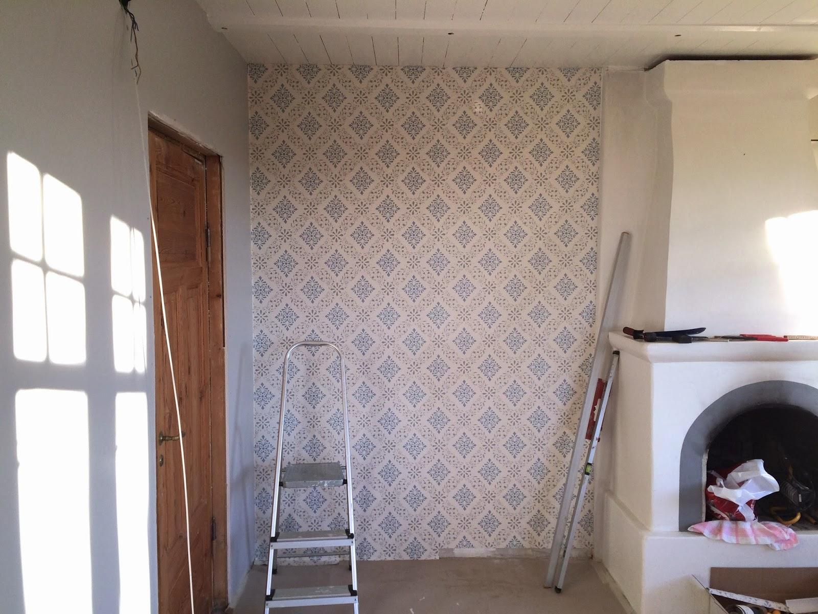Min lantliga dröm: Vardagsrummet tar form