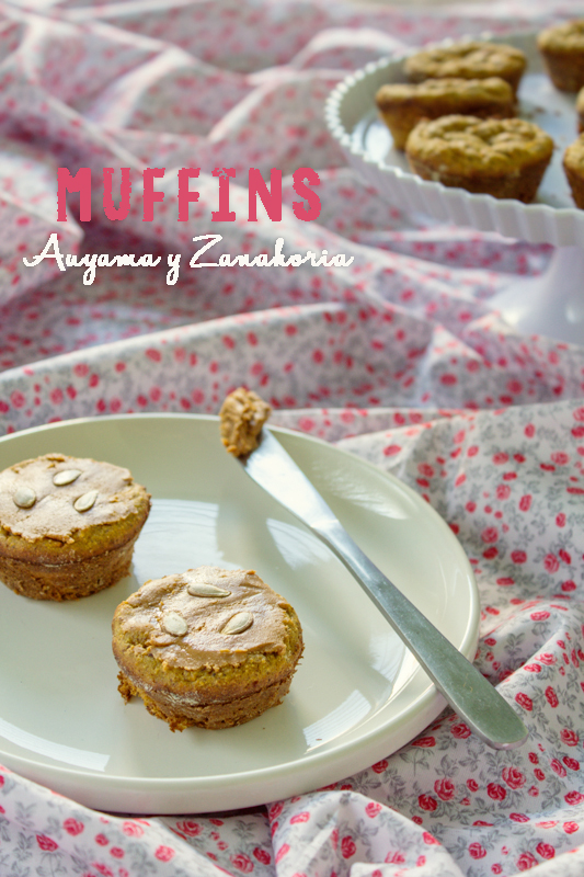 Receta de Muffins de Calabaza Light