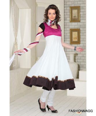 Girl Dress on Fashion   Style  Anarkali Indian Umbrella Frocks Anarkali Fancy Frocks