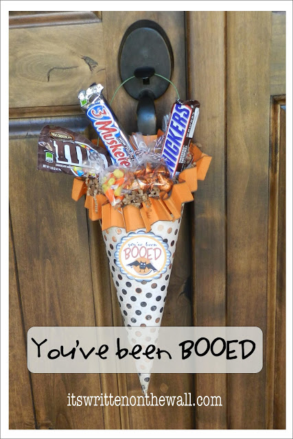 Tutorial: You've Been Booed Treats!