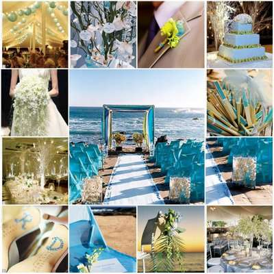 Wonderful Wedding Reception Decorations Elegant Beach Wedding