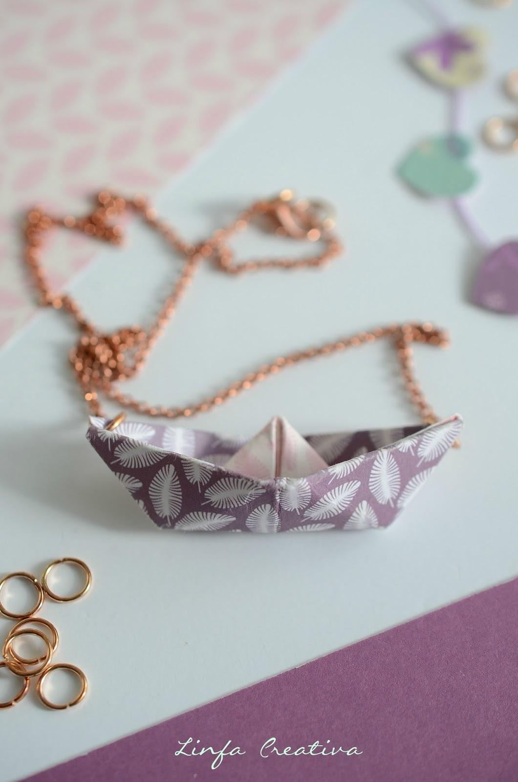 origami, paper jewels