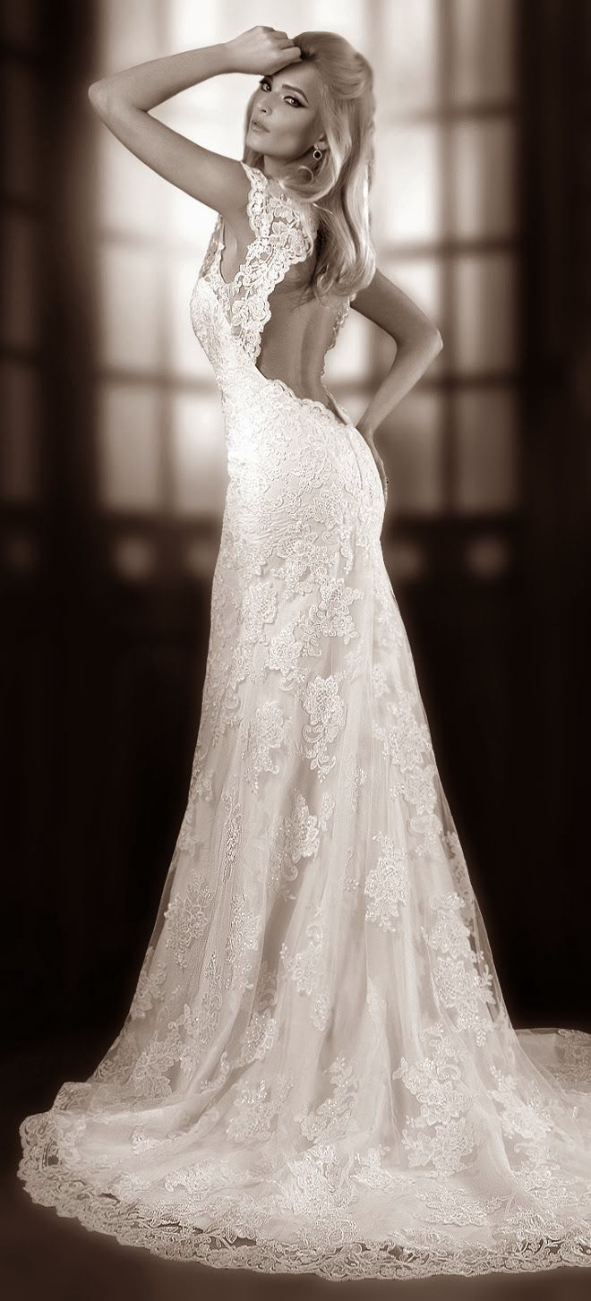 Amazing Luxury Wedding Dress 2014 Collection
