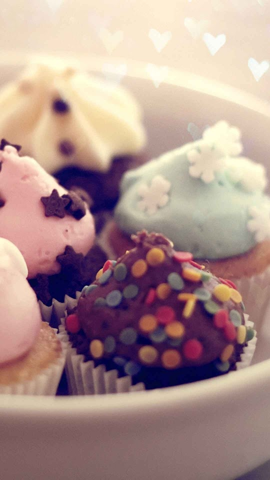 Pastel Cupcakes Macro Bokeh Cute Dessert  Galaxy Note HD Wallpaper