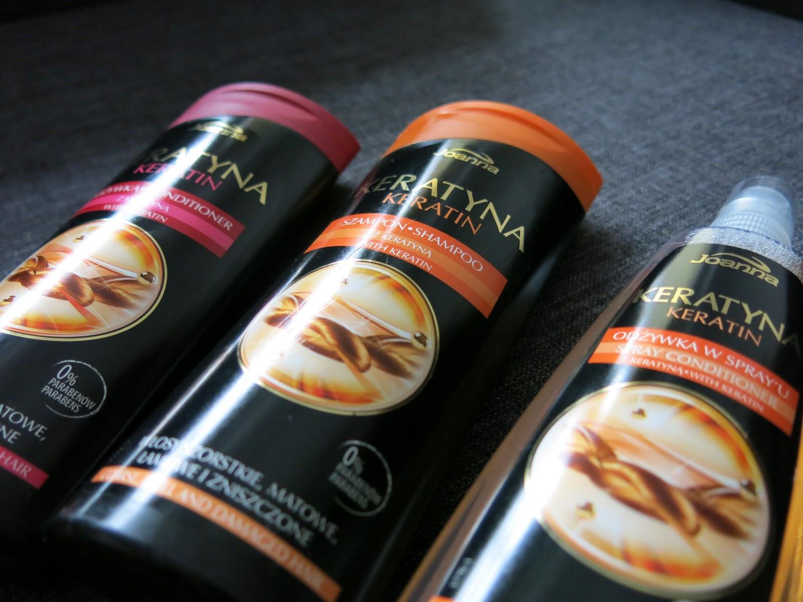 Laboratorium Kosmetyczne Joanna - kosmetyki do włosów: Keratyna.