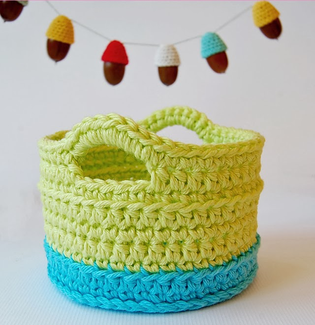 This is the first crochet basket that I have made. It turned out ...