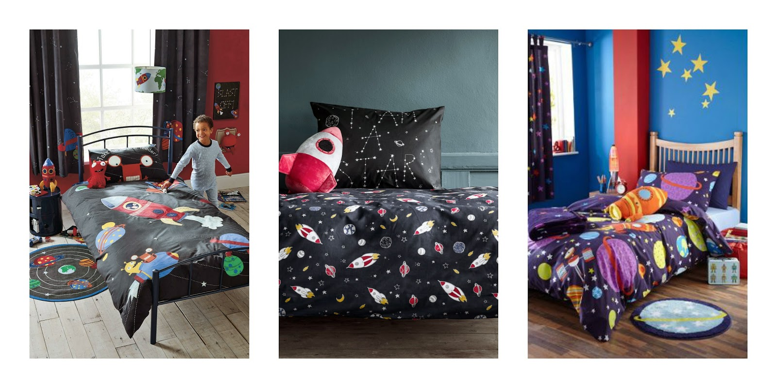 Space themed decorating ideas for kids | V. I. BEDROOM