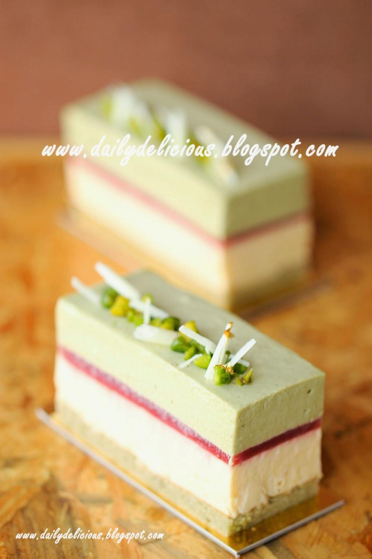 Recipe Pestacio Cake With Pineapple Juice