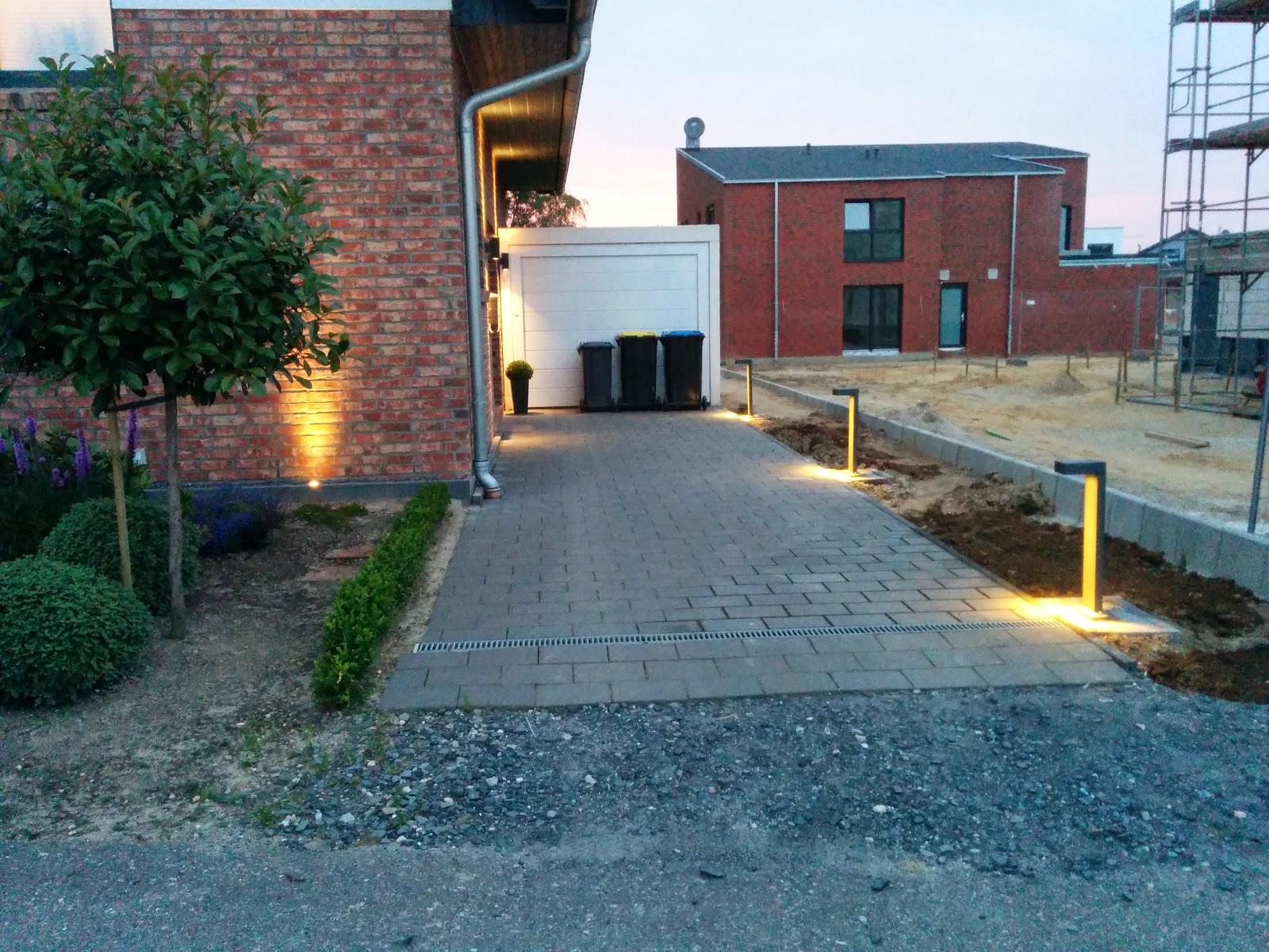 Garageneinfahrt beleuchtung  Codename: Edition 325: Es werde Licht