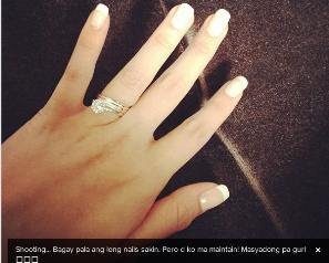 Angelica Panganiban Diamong Ring John Lloyd
