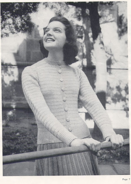 The Vintage Pattern Files Free 1950's Knitting Patterns - Teenage Patterns Hughes Knitting Book No.230a