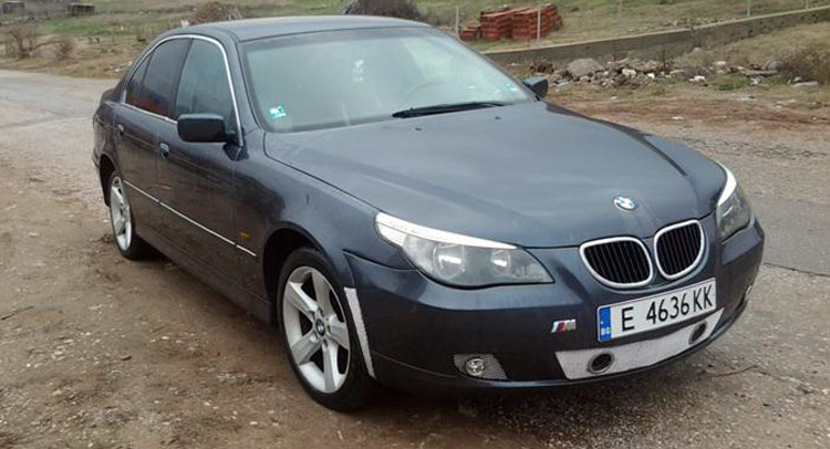 this isn 39 t really an e60 bmw 5 series guess the donor car. Black Bedroom Furniture Sets. Home Design Ideas