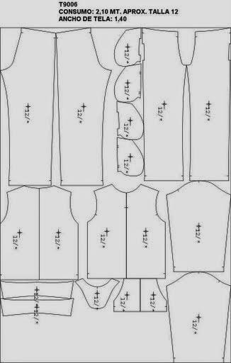 Moldes para fazer conjunto feminino de moleton
