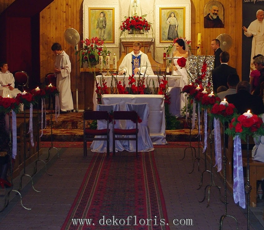 dekoracje ślubne opolskie - śląskie Dekofloris