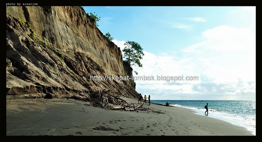 pantai luk kabupaten lombok utara