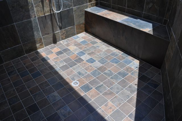 pinnacle exterior tile shower higher standard tile and stone