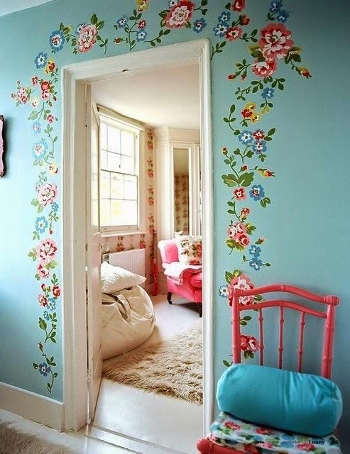 Декор для комнаты своими руками для девочки из подручных материалов