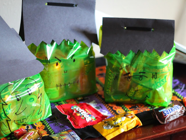 Halloween Monster Boo kit tutorial #BOOItForward