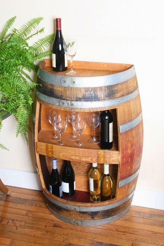 Icono Interiorismo: 12 Ideas para decorar con barricas de vino