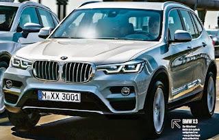 2017 BMW X3 Redesign