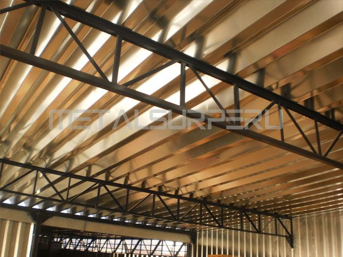 Metalsurperu e i r l especialistas en estructuras met licas sistemadrywall arequipa - Falso techo metalico ...
