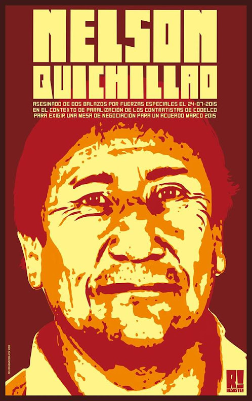 YA VAN A VER,   TODAS LAS BALAS SE VAN A DEVOLVER !!!!!!!!! Nelsón Quichillao Honor y Gloria !!
