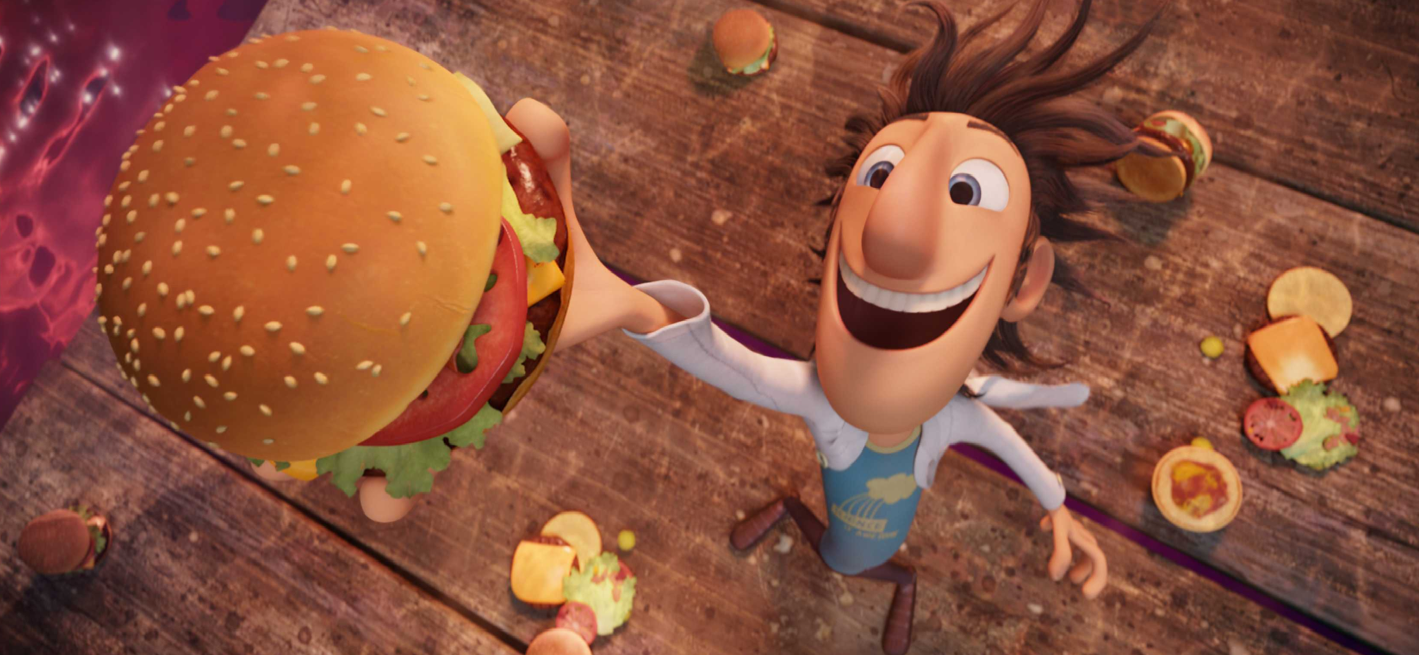 Eclectic celluloid reviews 3d cloudy with a chance of for Animation cuisine