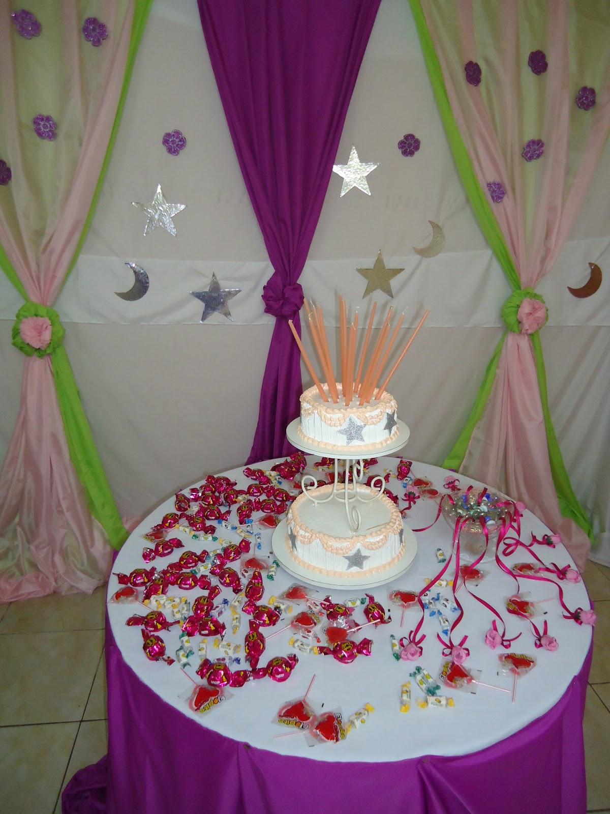 Luly creaciones todo para tus fiestas decoraci n - Decoracion con estrellas ...