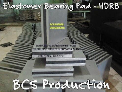 Elastomer Bearing Pad / Bantalan Jembatan ,Polos, Steel Plate, Seismic Rubber Bearing Pads.Batalan jembatan .Karet bantalan Jembatan