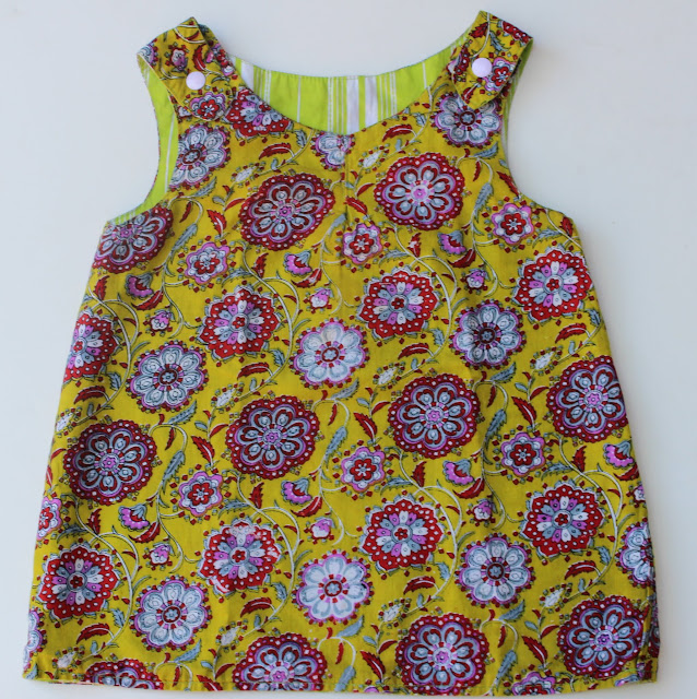 Reversible Dress Sewing Tutorial
