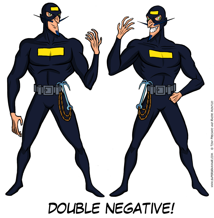 Super Grammar Double Negative – Double Negative Worksheets