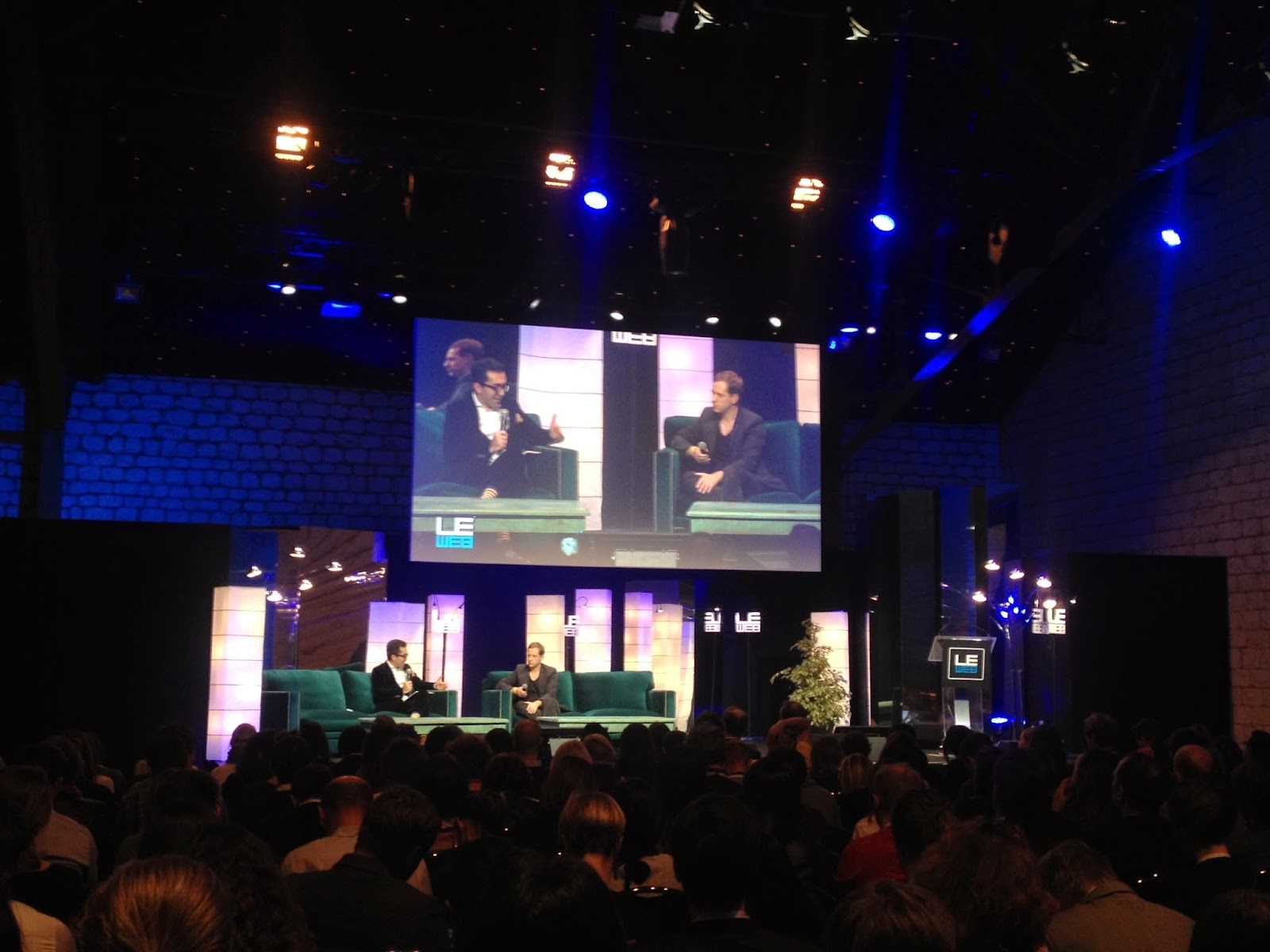 Lars Silberbauer Andersen at LeWeb'14 Paris