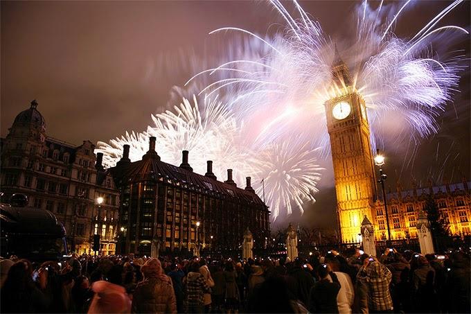 Noche Vieja Londres, Reino Unido