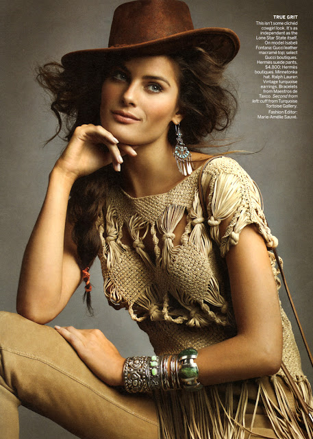 Isabeli Fontana Latest Vogue 2011 Photo Shoot Pics