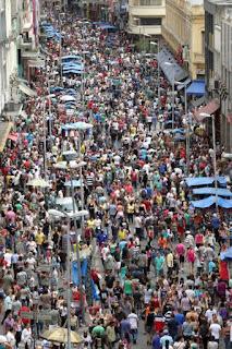 Brasil soma 204,4 milhões de habitantes desde o dia 1º de julho