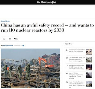 China has an awful safety record — and wants to run 110 nuclear reactors by 2030
