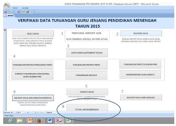 ADK untuk Tunjangan PTK Dikmen ~ Info Guru Pendidikan dan Kepegawaian
