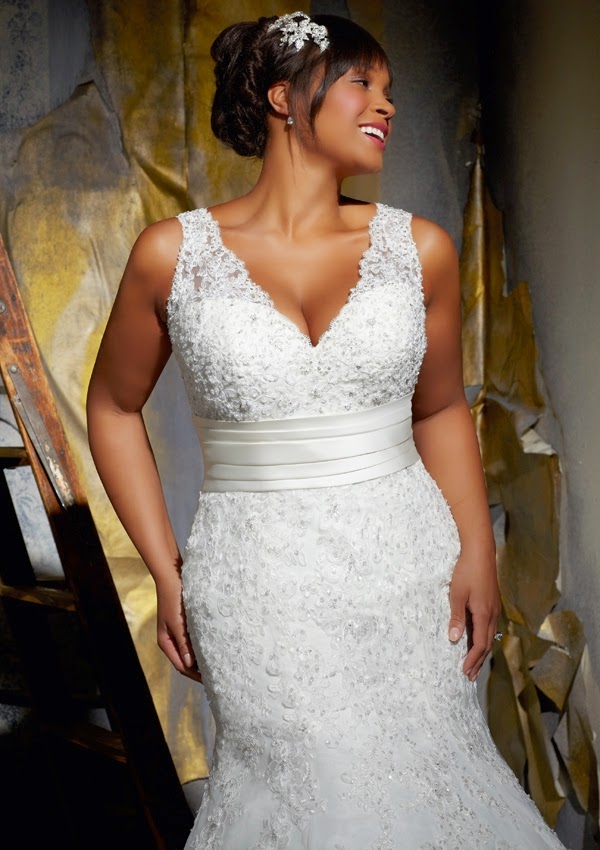 Top 3 Plus Size Mermaid Wedding Gowns Wedding And Bridal