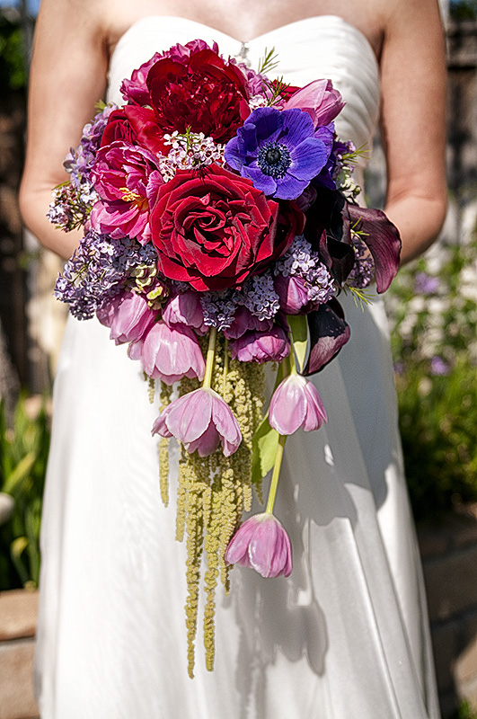 Ask Cynthia Wedding Inspirations Cascading Bouquets