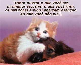 mensagens com animais