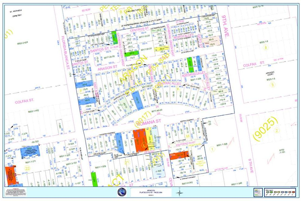to Live in Pensacola, Florida: Aragon Neighborhood in Downtown ... Downtown Pensacola Map on