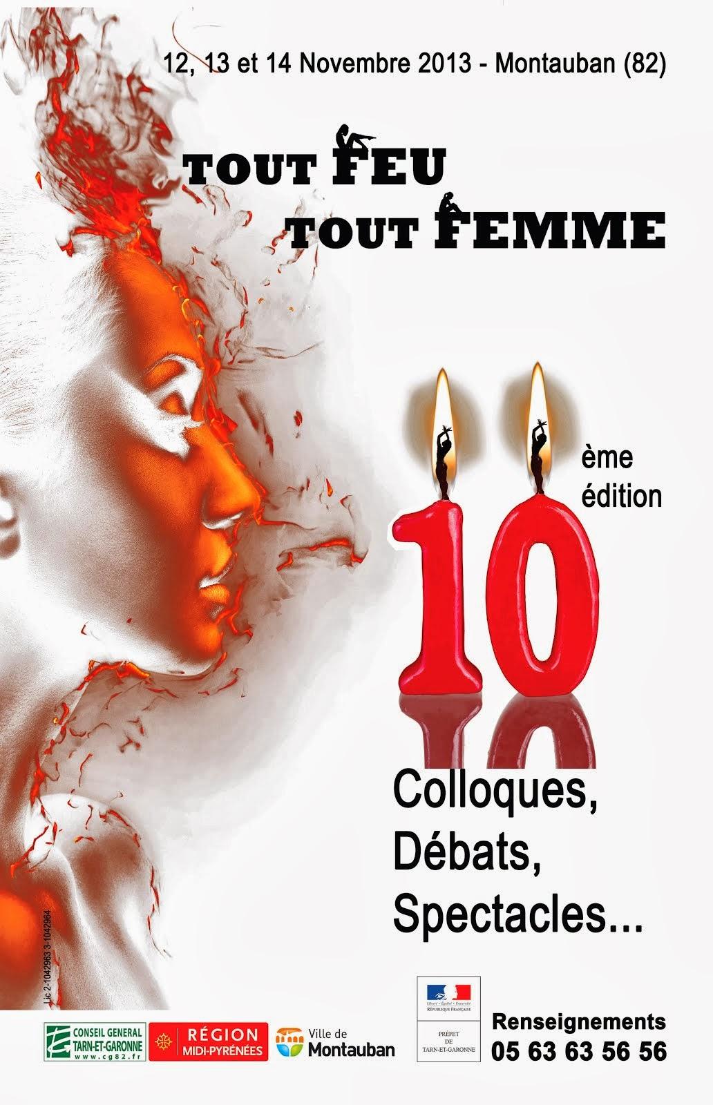 Tout Feu Tout Femme : 10ème édition